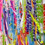 七夕の笹飾りは流すの?