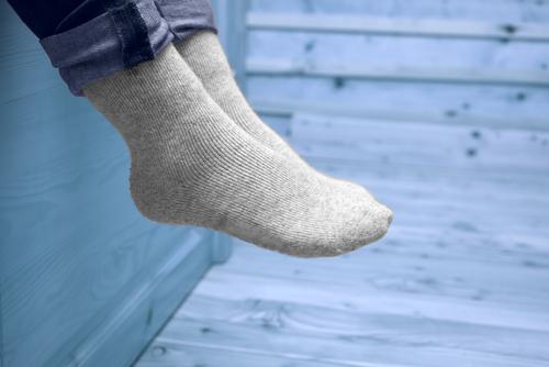 花火大会 雨 対策 靴下