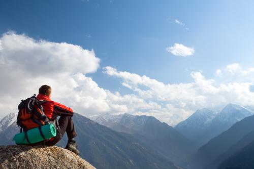 お盆休み つまらない 登山