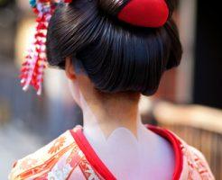 七五三 日本髪 長さ 結い方 髪飾り