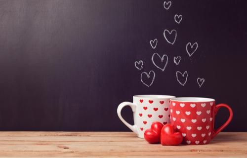バレンタイン マグカップ