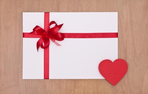 バレンタイン メッセージ 選び方