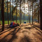 ゴールデンウィークの淡路島でのキャンプ